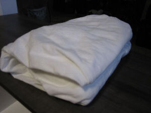 Double Flannel Fitted Sheet, NEW:REDUCED