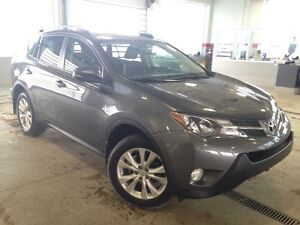 2014 Toyota Rav4 Limited Navi, Backup Cam, Heated Seats, Sunroof