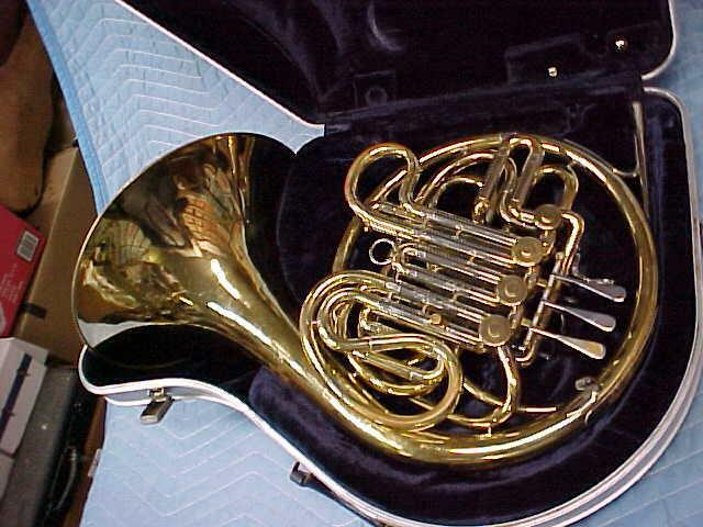Vintage F.E Olds & Son Double French Horn, Ready to Play Condition