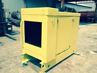 John Deere 240hp stationary power unit