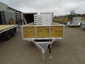 ALL ALUMINUM HIGH SIDED 6.5 X 12' LANDSCAPE TRAILER LOWEST PRICE London Ontario image 11