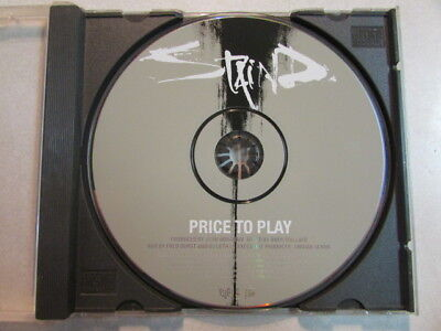 STAIND (AARON LEWIS) PRICE TO PLAY RADIO EDIT 2003 PROMO ONLY CD SINGLE RARE OOP, used for sale  Mesa