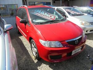 2003 Mazda Premacy CP10S2 Red 5 Speed Manual Hatchback Somerton Park Holdfast Bay Preview