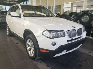 2010 BMW X3 28i, HEATED STEERING, SUNROOF, ACCIDENT FREE