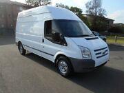 2013 Ford Transit VM MY12 Update High (LWB) White 6 Speed Manual Van Yagoona Bankstown Area Preview