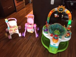 Baby Toys - Walkers and Baby Fun Station