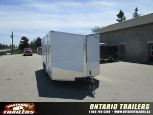 "ONTARIO TRAILERS TANDEM AXLE 8.5' X 20'+36"" V-NOSE TITAN"