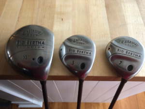 LADIES USED GOLF CLUBS FOR SALE