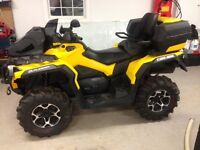 Like new 2013 Can Am Outlander 650 Max XT