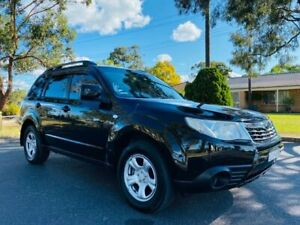 2008 Subaru Forester S3 MY09 X AWD Black 4 Speed Sports Automatic Wagon Camden Camden Area Preview
