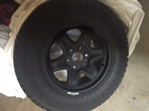 Blizzak winter tires and rims