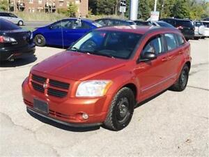 2009 DODGE CALIBER SXT NO ACCIDENTS & WINTER TIRE PACKAGE!