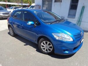 2011 Toyota Corolla ZRE152R MY11 Ascent Blue 6 Speed Manual Hatchback Sylvania Sutherland Area Preview