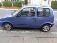 Fiat Cinquecento - good town runner - low mileage