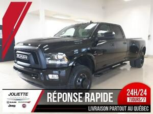2018 Ram 3500 Longhorn, LIMITED, ALL BLACK, DOUBLE ROUES, DIESEL
