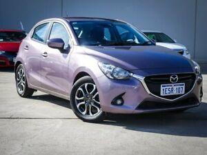 2015 Mazda 2 DJ2HAA Genki SKYACTIV-Drive Black 6 Speed Sports Automatic Hatchback Midvale Mundaring Area Preview