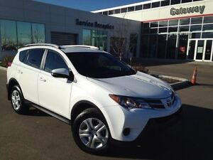 2015 Toyota Rav4 LE 4dr All-wheel Drive Upgrade Package- Only 47