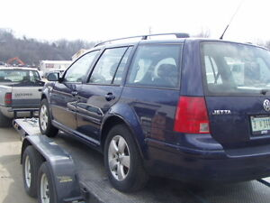 wanted: 1999-2003 VW Jetta WAGON for parts! any condition!