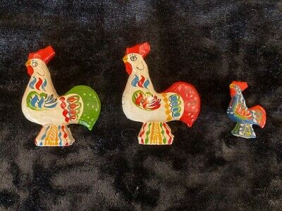 One-of-A-Kind 3D Colorful Rooster Afghan