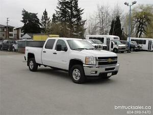 2013 CHEVROLET SILVERADO 2500HD LT CREW CAB SHORT BOX 4X4