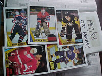 NM/MT1987-88 O-Pee-Chee (OPC) Hockey Complete Set (264)