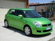 2010 Suzuki Swift RS415 S Green 5 Speed Manual Hatchback Mount Lawley Stirling Area Preview