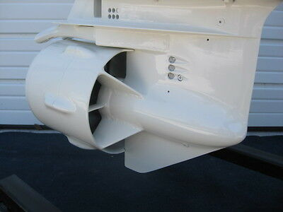 DURAJET ENFORCER JET NO CORE REQUIRED GEARCASE WHITE 40 50 60 DI OUTBOARDS