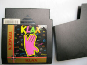 x            NES nintendo game Klax  or best offer