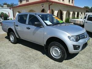2010 Mitsubishi Triton MN MY10 GLX Silver Blue 4 Speed Automatic South Nowra Nowra-Bomaderry Preview
