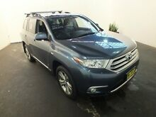 2011 Toyota Kluger GSU45R MY11 Upgrade KX-S (4x4) Cosmos Blue 5 Speed Automatic Wagon Clemton Park Canterbury Area Preview