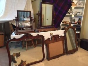 5 Antique Mirrors from $55 to $125