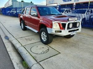 2007 Holden Rodeo RA MY07 LTZ (4x4) Burgundy 5 Speed Manual Crew Cab Pickup Dandenong Greater Dandenong Preview