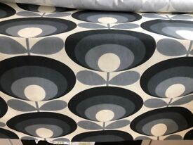 ORLA KIELY FABRIC SEVENTIES FLOWER OVAL MATERIAL 3 METRES X 1.4 METRES (BRAND NEW) ORDERED IN ERROR