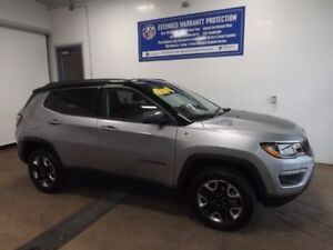 2017 Jeep Compass Trailhawk 4WD LEATHER NAVI