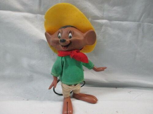 """Vintage Speedy Gonzales Dakin Looney Tunes 8"""" Rubber Figure From Hong Kong (SP)"""