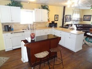 Kitchen Cabinets and countertops - great shape Sarnia Sarnia Area image 1