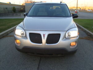 2008 PONTIAC MONTANA SV6 LS 7 PASSENGER ''ONE TAX INCLUDED'' West Island Greater Montréal image 2