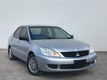 2007 Mitsubishi Lancer CH MY07 ES Silver 5 Speed Manual Sedan