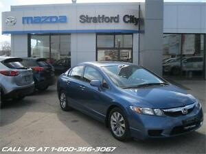 2010 Honda Civic Sdn EX-L LOWKM! ONE OWNER! NO ACCIDENTS!