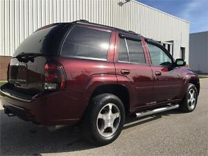 2007 Chevrolet TrailBlazer LT 4WD With Sunroof - 68396 KMS .