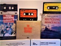 FLEETWOOD MAC, RAY CHARLES, BRENDAN SHINE, TOM SHARPE, CS FORESTER, THE RED ARMY + + CASSETTE TAPES