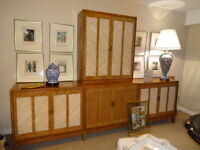 Sectional Buffet & Cabinet