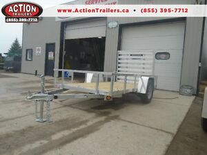 GET MORE OPTIONS W/ 2016 ALUMINUM FRAME 5X10 UTILITY TRAILER London Ontario image 1