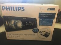 Philips CEM2000 Car Audio System - brand new, still in sealed box