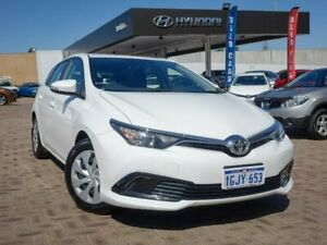 2017 Toyota Corolla ZRE182R Ascent S-CVT White 7 Speed Constant Variable Hatchback Morley Bayswater Area Preview