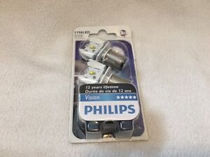 Philips Vision LED 1156LED Tail Light Bulbs