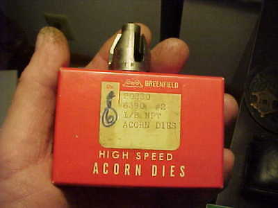 NOS Greenfield 7//16-14 TPI NC Acorn Die No.3 USA Machinist Pipe Fitter ETC
