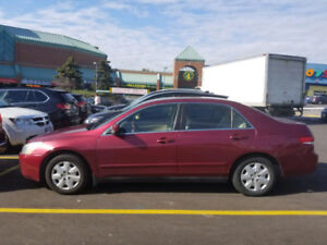 2004 Accord Sedan Non Smoker-Well Maitnained-Low KMs