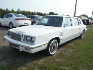 1986 Chrysler Lebaron LIMO -ONE OF ONLY 138 PRODUCED!