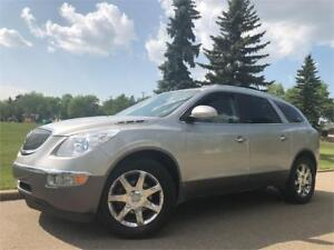 2008 Buick Enclave CXL AWD - ONE OWNER = 2 SUNROOFS = LEATHER...
